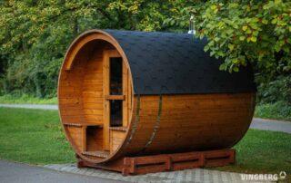 Sauna ogrodowa z sosny skandynawskiej Akka #280