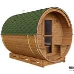 Sauna do ogrodu z termowanej sosny fińskiej