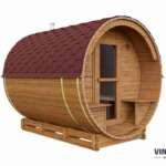 Sauna ogrodowa z ThermoWood