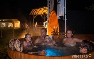 ThermoWood hot tub Norra #185