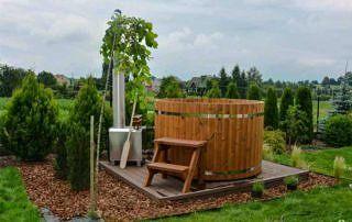Balia ogrodowa Norra#185 z ThermoWood