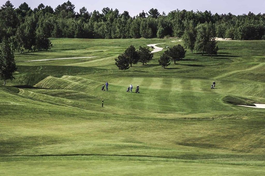 Pole golfowe Krakow Valley Golf & Country Club - panorama