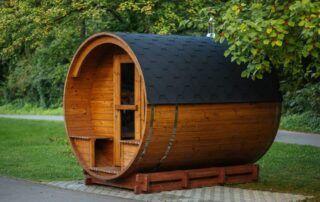 Sauna ogrodowa z drewna Thermowood