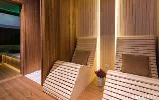 Sauna nowoczesna - wnętrze z najwyższej jakości materiałów
