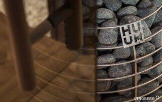 Piec Huum zastosowany w saunie nowoczesnej