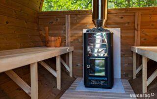 Sauna z ThermoWood