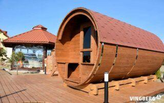 Sauna ogrodowa Akka#420 bok