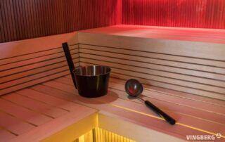 Panele ławkowe, oświetlenie Ruben Design i akcesoria