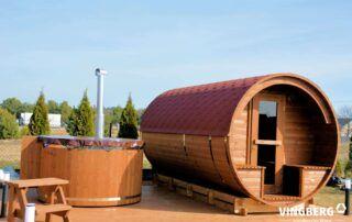 Sauna Akka #420 i balia Norra #185